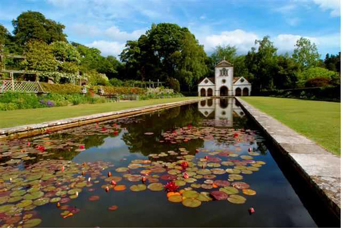 Bodnant Italian garden