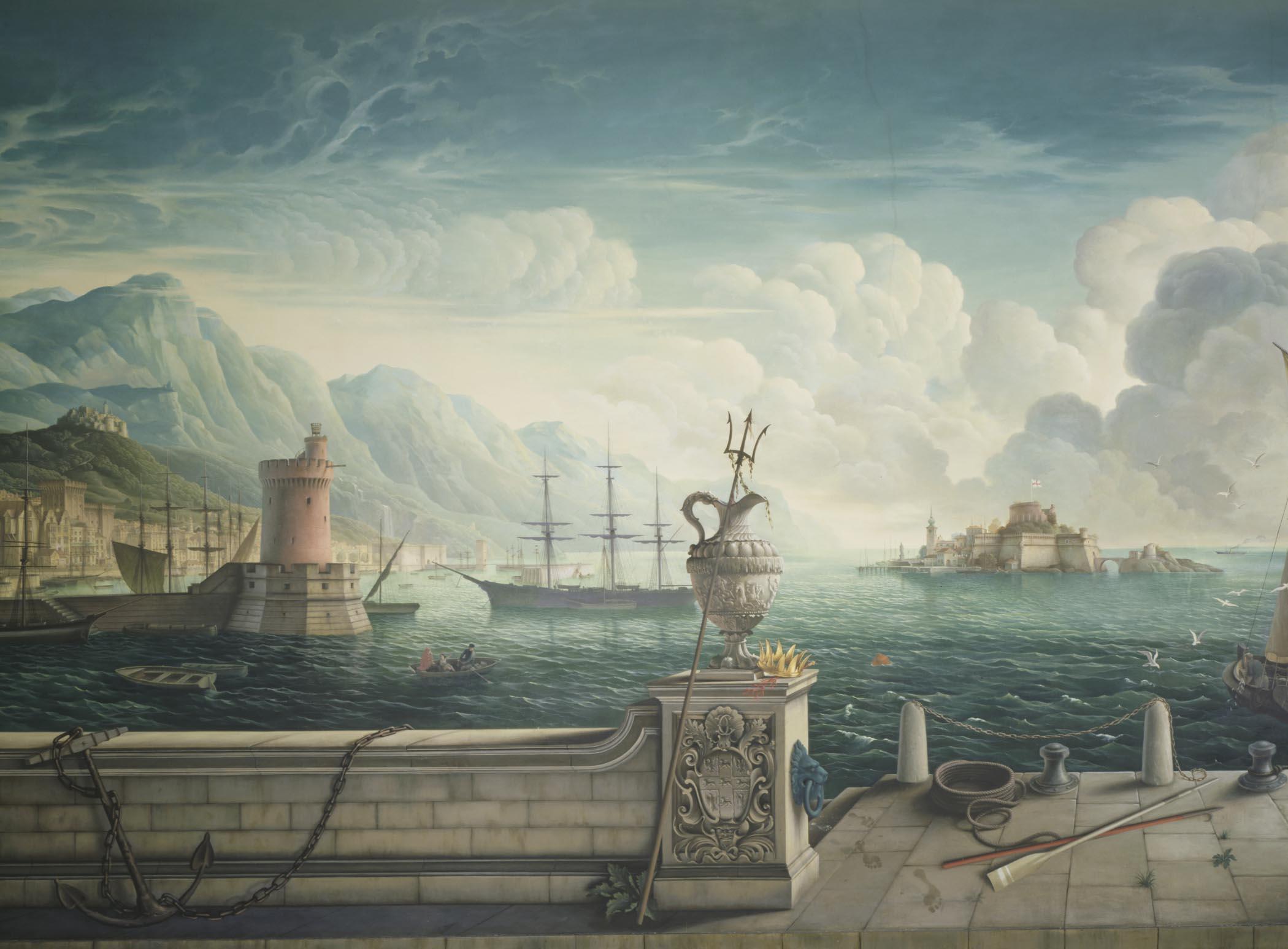 Plas Newydd Whistler mural