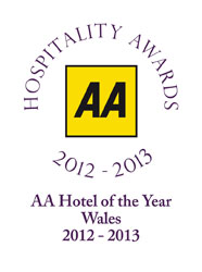 AA Hotel of the Year for Wales 2012-13
