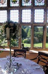 Wedding Breakfast - view to gardens