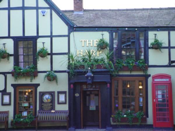 The oldest Inn in Abergele: The Harp