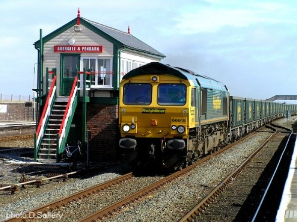 Abergele Train Station - Chester to Holyhead, stopping at all main resorts