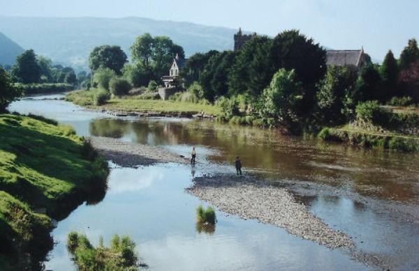 Rural village of Llanrwst