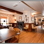 Black Lion, Llanfair TH. Riverside pub and restaurant