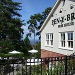 Sophisticated gastro pub, The Pen y Bryn, Colwyn Heights