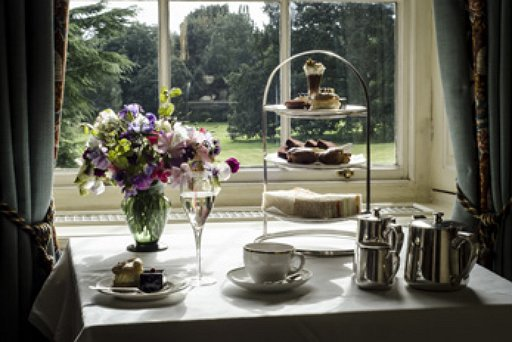 Afternoon Tea on window sill