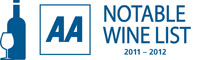 AA Notable Wine List 2011