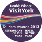 York Tourism Awards - double winner 2013